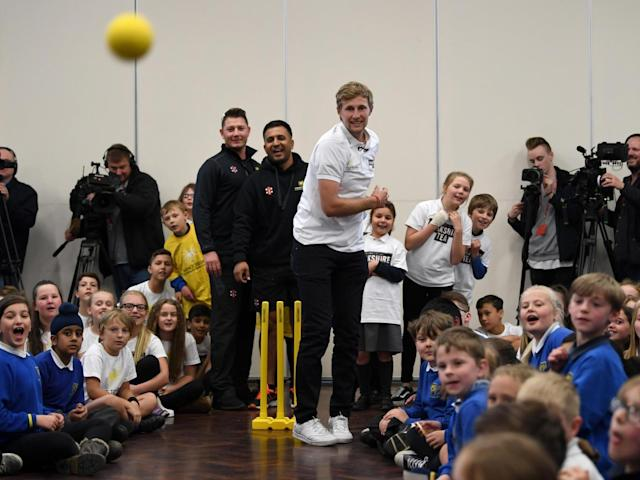 Root returned to his primary school in a recent Yorkshire Tea ad campaign (Getty)