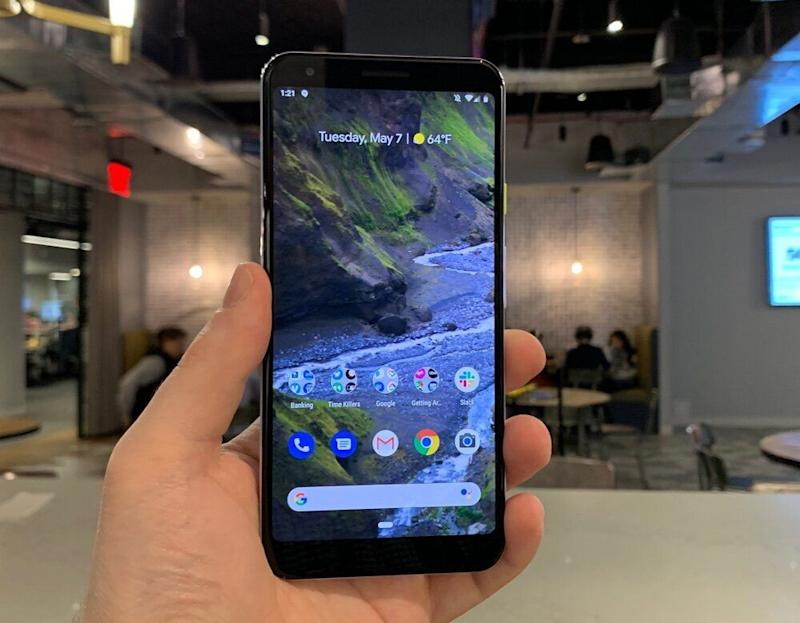 The Pixel 3a is less than half the price of leading smartphones, but packs many of the same features. (Image: Dan Howley)