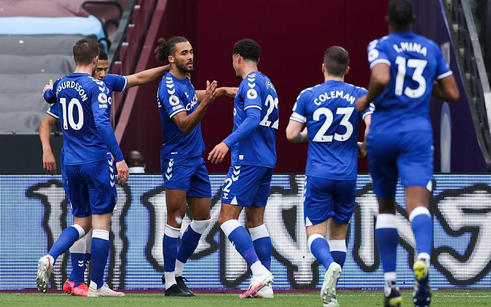 Dominic Calvert-Lewin punishes West Ham as Everton gain ground in race for European football - NMC POOL