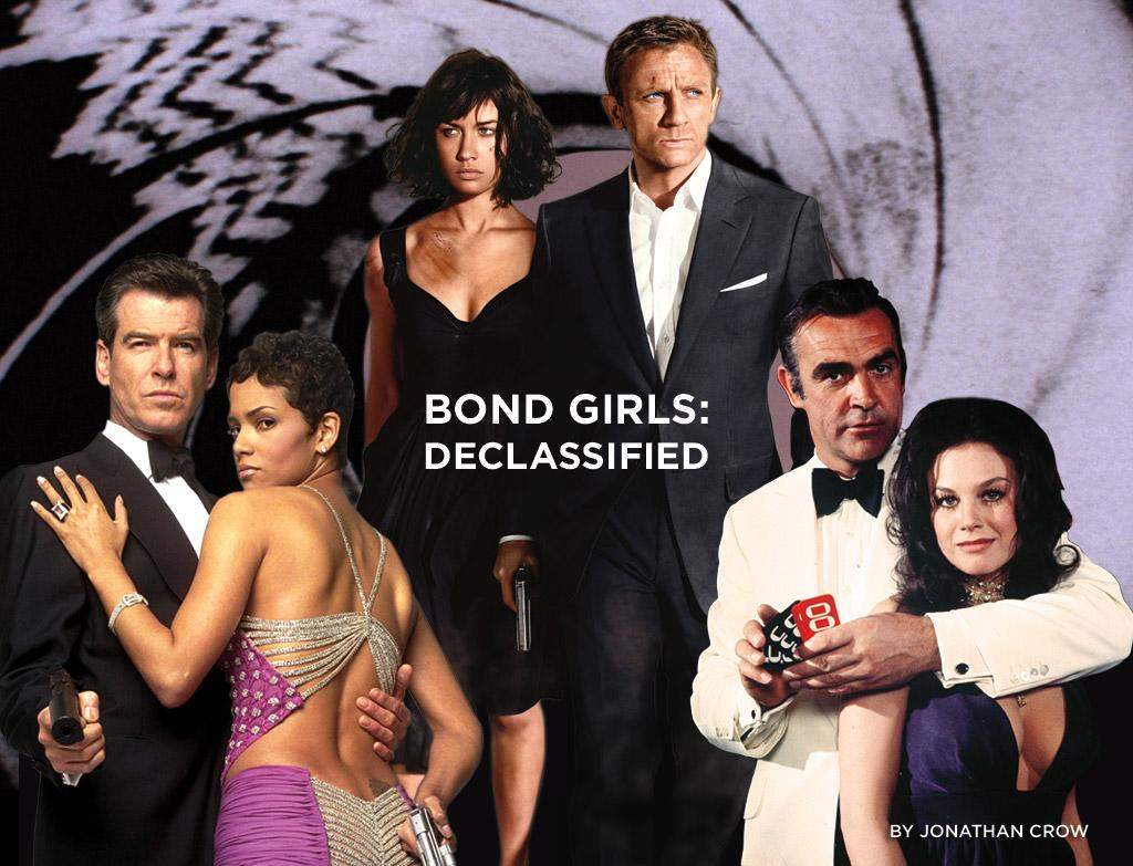 """There are a few crucial ingredients for a 007 flick: a gadget-laden car, a perfectly tailored tuxedo, a ridiculously evil villain with a similarly ridiculous plan for world domination. But most important are the Bond girls. Whether an ally or enemy, Bond girls almost always look amazing, show their tough and their sensitive sides, and more often than not wind up making out with 007 in a boat. With <a href=""""http://movies.yahoo.com/movie/1809961074/info"""">Quantum of Solace</a> hitting the theaters up next week, we're opening the MI6 files on all the women who left Mr. Bond both shaken and stirred."""