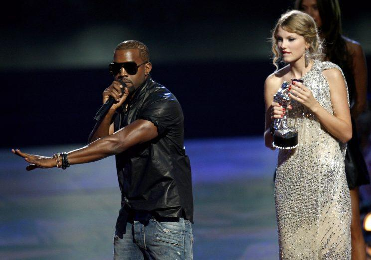 Kanye famously defended Beyonce's honour at the 2009 VMAs.