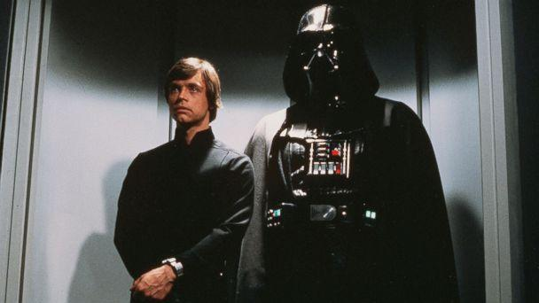 PHOTO: Luke Skywalker and Darth Vader are shown in a scene from the film 'Return of the Jedi.' (Lucasfilm)
