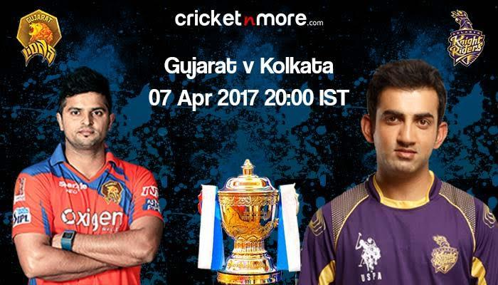 IPL 10: KKR aim to improve poor record against Gujarat Lions