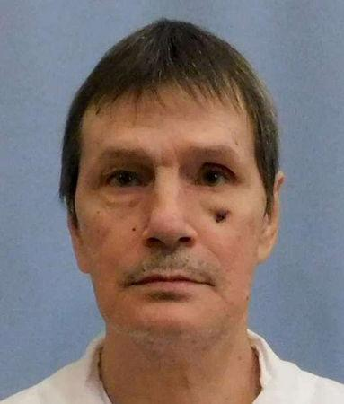 FILE PHOTO: Death row inmate Doyle Hamm in a police booking photo