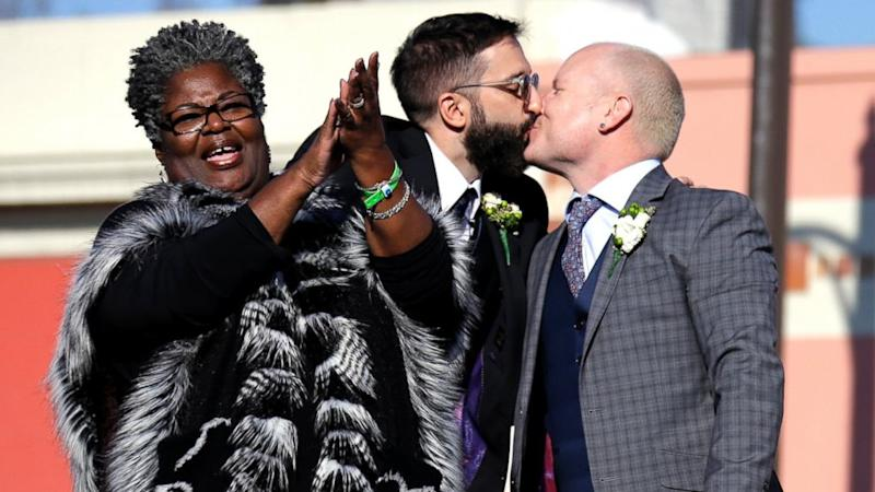 Gay Wedding on Float Featured at Contentious Rose Parade