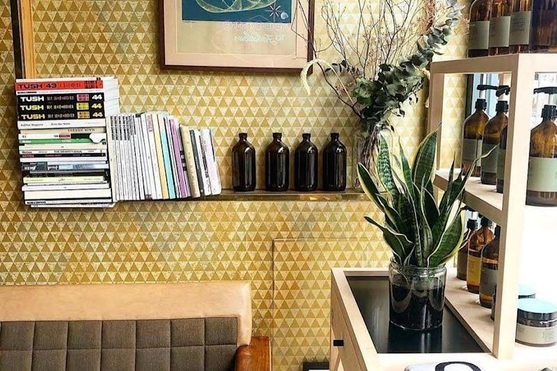 The salon uses non-toxic Oway products (Blue Tit Brockley)