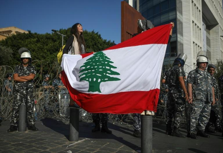 "Lebanese anti-government protesters say their country's ""real independence"" is close as Lebanon marks its 76th national day"