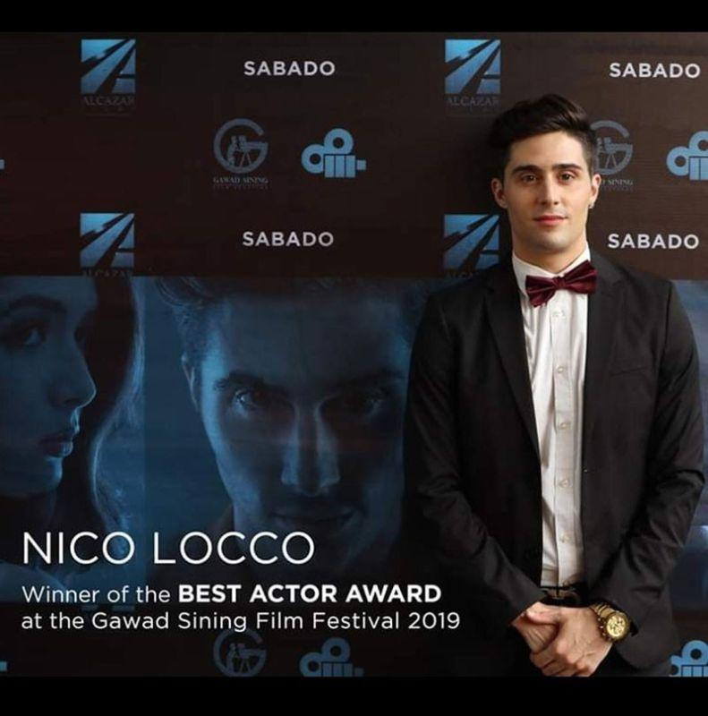 Italian actor makes history for bagging Gawad Sining Best Actor