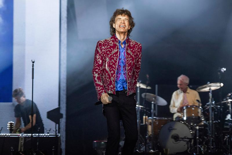 """Mick Jagger of the Rolling Stones performing in New Orleans last year. The band will re-release 1973 album """"Goats Head Soup"""" on Friday."""