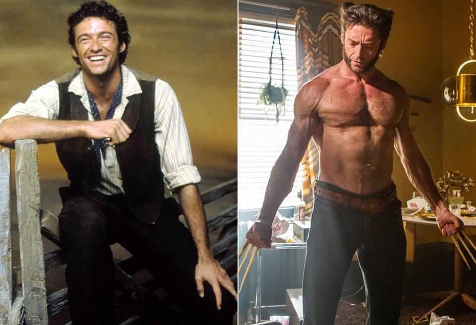 <p>Jackman cut his claws as a singing, dancing cowboy in an acclaimed stage revival of the Rodgers & Hammerstein musical that was later filmed for television in 1999, just before he was cast in Bryan Singer's first <i>X-Men </i>adventure. <i>(Photo: Everett)</i></p>