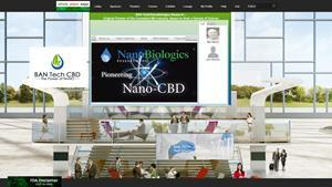 The BAN Technologies booth at the CBD and Cannabinoids Products Expo at Whole Plant Expo 2020