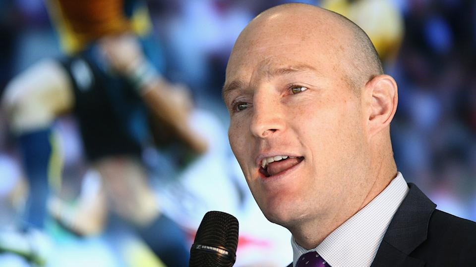 Seen here, former Wallabies skipper Stirling Mortlock was among those to call for change at Rugby Australia.