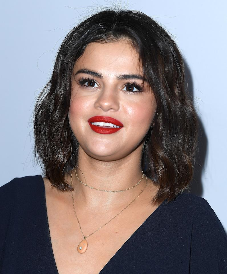 "<p>Selena Gomez en el evento ""WE Day California To Celebrate Young People Changing The World""/Getty Images </p>"