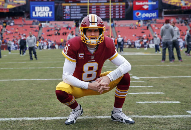 He likes that: QB Kirk Cousins will reportedly sign a three-year, fully guaranteed contract with the Minnesota Vikings. (AP)