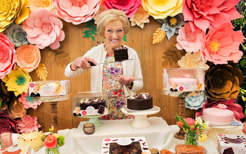 Mary Berry - Credit: David Rose
