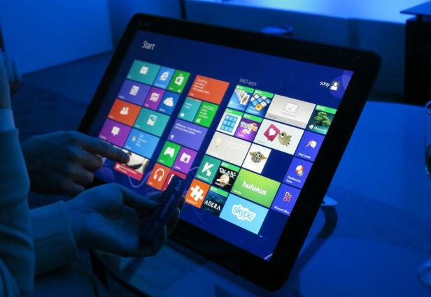 Sony Unleashes a Windows 8 Monster: Tap 20