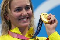 Swimming - Women's 400m Freestyle - Medal Ceremony