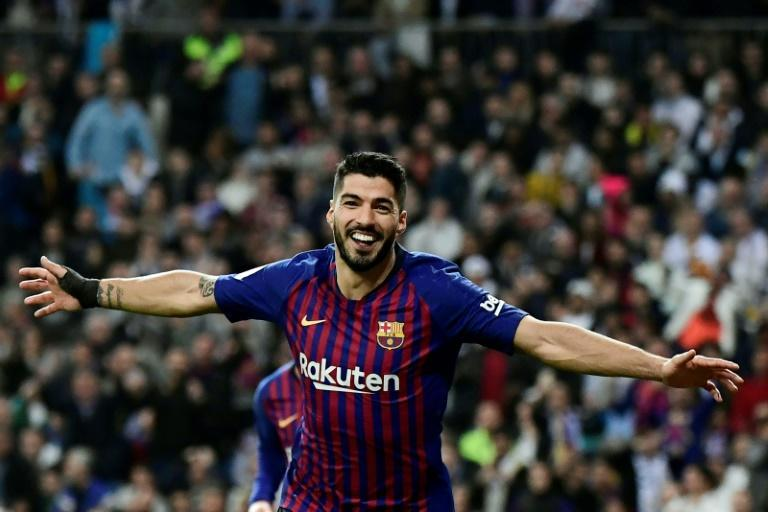 Luis Suarez's move from Barcelona to Atletico Madrid was confirmed on Wednesday