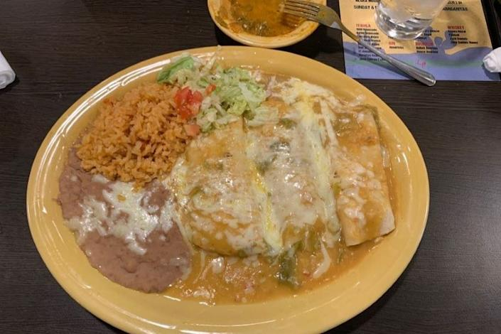 "<p>Photo: Eddie G./<a href=""https://www.yelp.com/biz_photos/las-palmas-mexican-restaurant-and-bar-el-paso-3?select=11E-d-giXv19tnZBm1q92A&utm_campaign=13448f93-d063-40ed-b238-c6c5e5eefb5e%2Cea0feae9-d959-4189-9f22-2aaa346d6952&utm_medium=81024472-a80c-4266-a0e5-a3bf8775daa7"" rel=""nofollow noopener"" target=""_blank"" data-ylk=""slk:Yelp"" class=""link rapid-noclick-resp"">Yelp</a></p>"