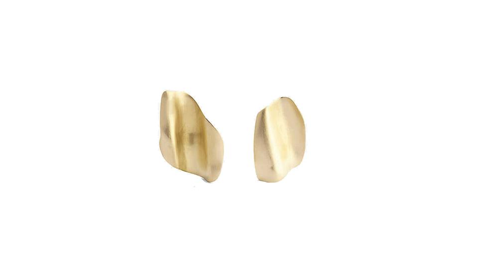 18ct gold-plated sterling silver earrings