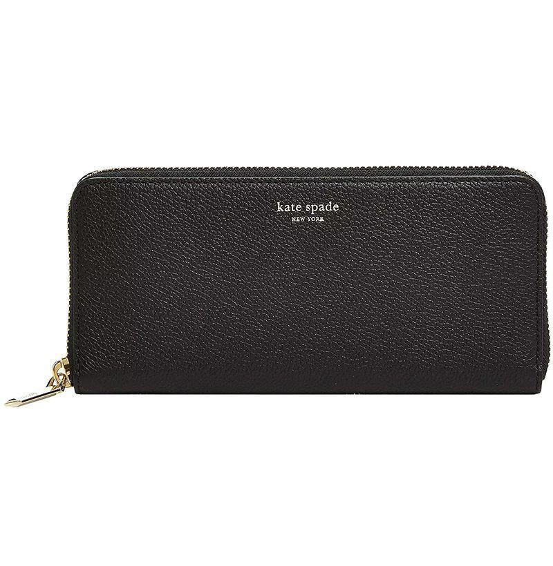 """<p><strong>Kate Spade</strong></p><p>bloomingdales.com</p><p><strong>$158.00</strong></p><p><a href=""""https://go.redirectingat.com?id=74968X1596630&url=https%3A%2F%2Fwww.bloomingdales.com%2Fshop%2Fproduct%2Fkate-spade-new-york-slim-leather-continental-wallet%3FID%3D3238053&sref=https%3A%2F%2Fwww.esquire.com%2Flifestyle%2Fg2121%2Fmothers-day-gift-guide%2F"""" rel=""""nofollow noopener"""" target=""""_blank"""" data-ylk=""""slk:Buy"""" class=""""link rapid-noclick-resp"""">Buy</a></p><p>When her wallet gets too crammed with cards and keepsakes, upgrade her to Kate Spade's classic style. </p>"""