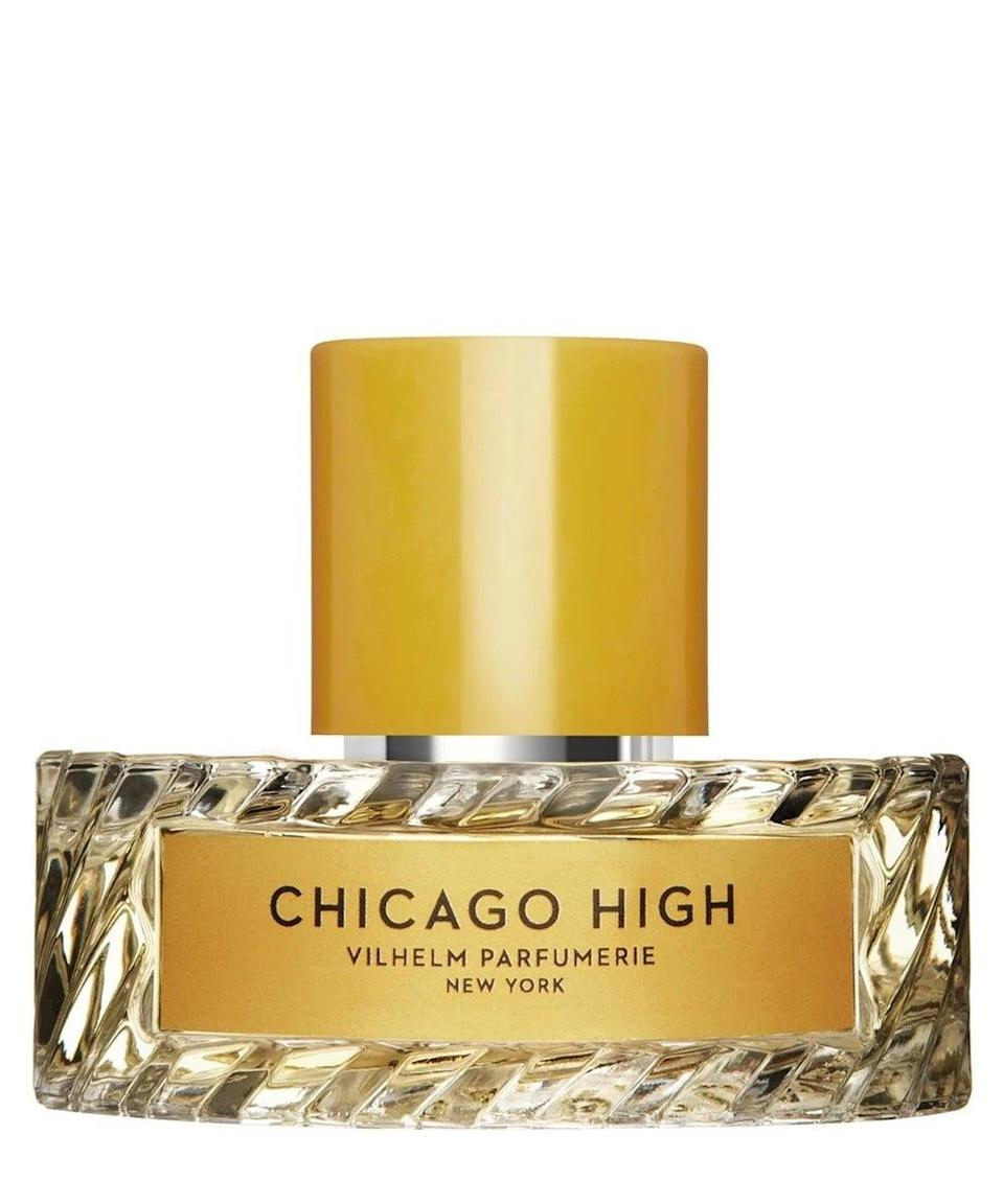 """Chicago High is a real head-turner. Brooding and commanding, it smells like a well-loved leather jacket bathed in champagne with a heavy helping of tobacco. It's not for the faint-hearted, that's for sure.<br><br><strong>Vilhelm Parfumerie</strong> Chicago High Eau de Parfum, $, available at <a href=""""https://www.libertylondon.com/uk/chicago-high-eau-de-parfum-50ml-000646358.html"""" rel=""""nofollow noopener"""" target=""""_blank"""" data-ylk=""""slk:Liberty London"""" class=""""link rapid-noclick-resp"""">Liberty London</a>"""