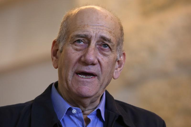 "Ehud Olmert was once described as ""probably the best"" politician Israel ever produced, but the debonair ex-premier who was released from prison on Sunday has seen a humiliating fall from grace (AFP Photo/GALI TIBBON)"