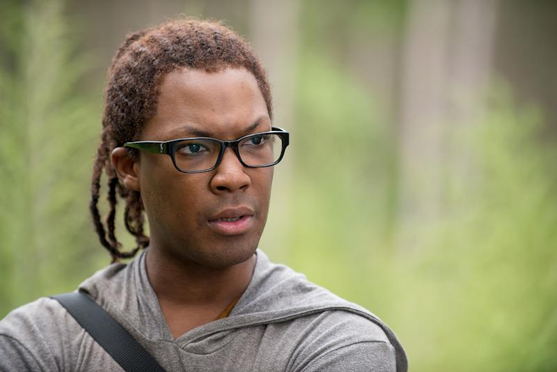 Corey Hawkins as Heath - The Walking Dead _ Season 6, Episode 12 - Photo Credit: Gene Page/AMC