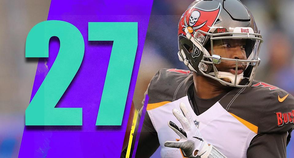 <p>The risk with playing Jameis Winston again is that his $20.9 million option for next season is guaranteed due to injury. Keep that in mind as Winston gets his last (?) chance to impress before the offseason. (Jameis Winston) </p>