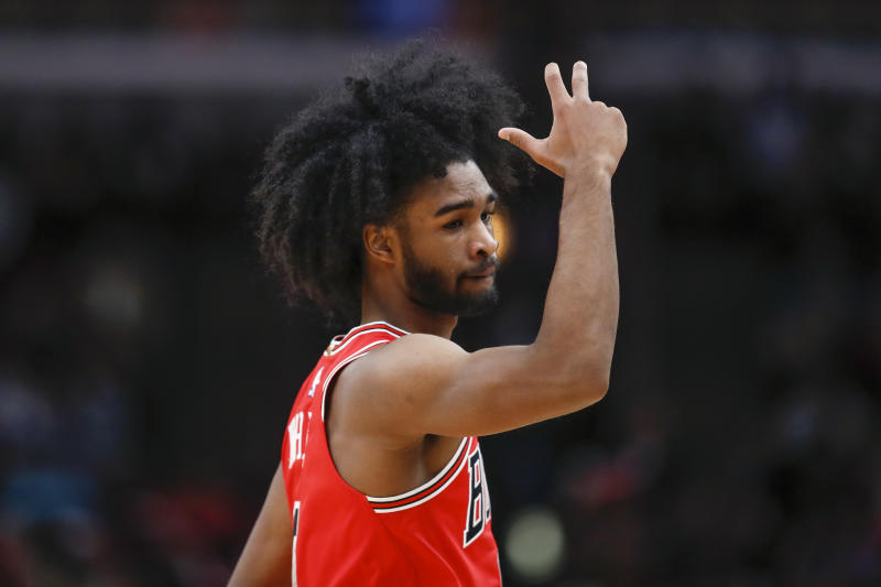 Coby White's 3-point outburst showed the promise that compelled the Bulls to select him with the No. 7 pick in the draft. (Kamil Krzaczynski/USA Today)