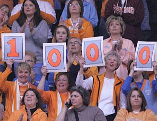 Lady Vol fans came ready for the occasion