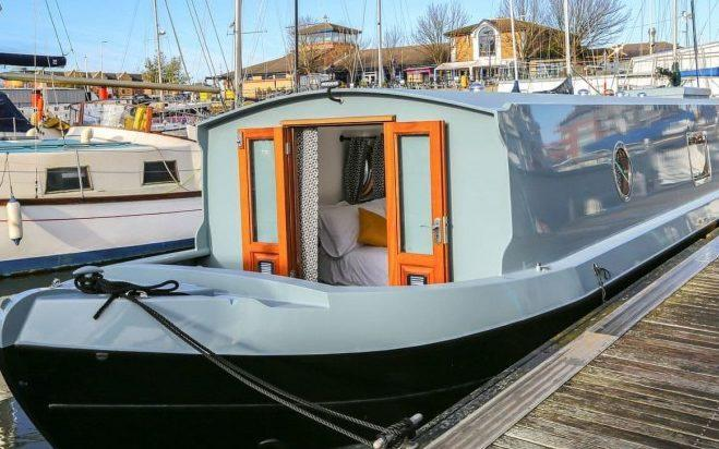 For an unusual base, book a stay onboard the Liverpool Houseboat