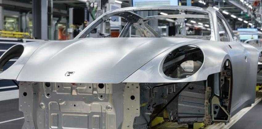 Porsche production