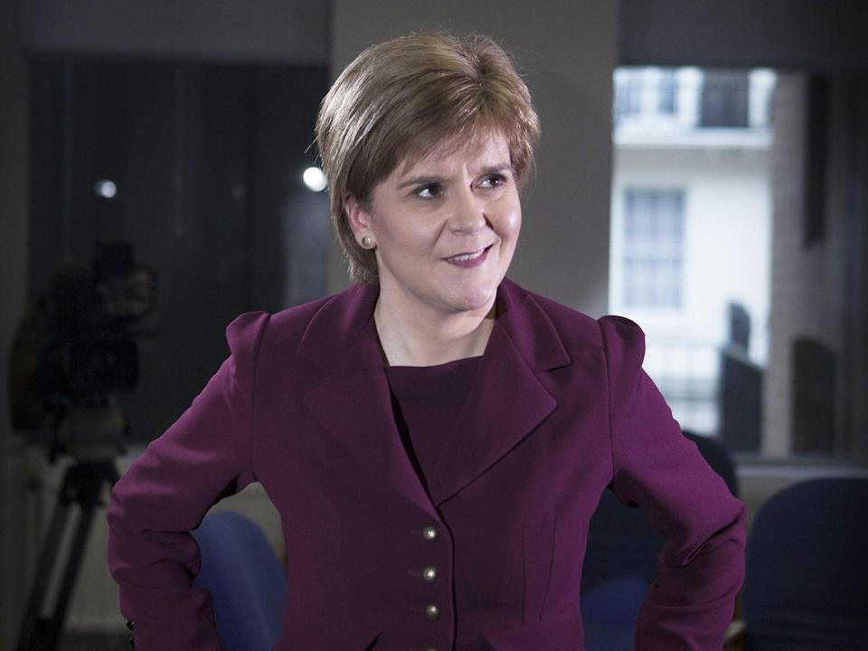 The Scottish first minister was quick to condemn her MP