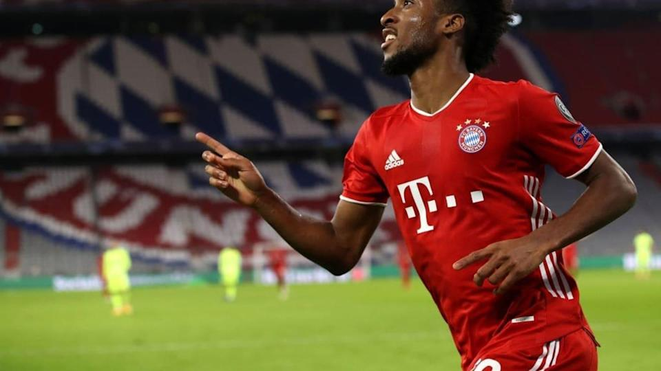Francês defende o Bayern | FC Bayern Muenchen v Atletico Madrid: Group A - UEFA Champions League | Alexander Hassenstein/Getty Images