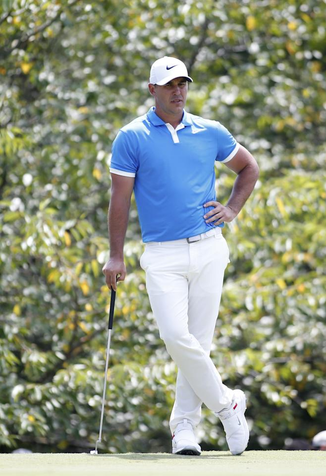 "<p>Brooks Koepka fired a final-round 65 for a three-stroke win over Webb Simpson, his third PGA Tour title of the season. The 29-year-old knows how to stay cool when cruising to victory and he certainly knows how to dress the part, too. A Nike athlete, Koepka's look at TPC Southwind was bright and summery while maintaining a high level of sophisticated style. Shop Brooks Koepka's look now:</p> <p><strong>Shirt:</strong> <a href=""https://dicks-sporting-goods.ryvx.net/0BrgO"" rel=""nofollow"">Nike Dri-FIT Vapor Men's Golf Polo 