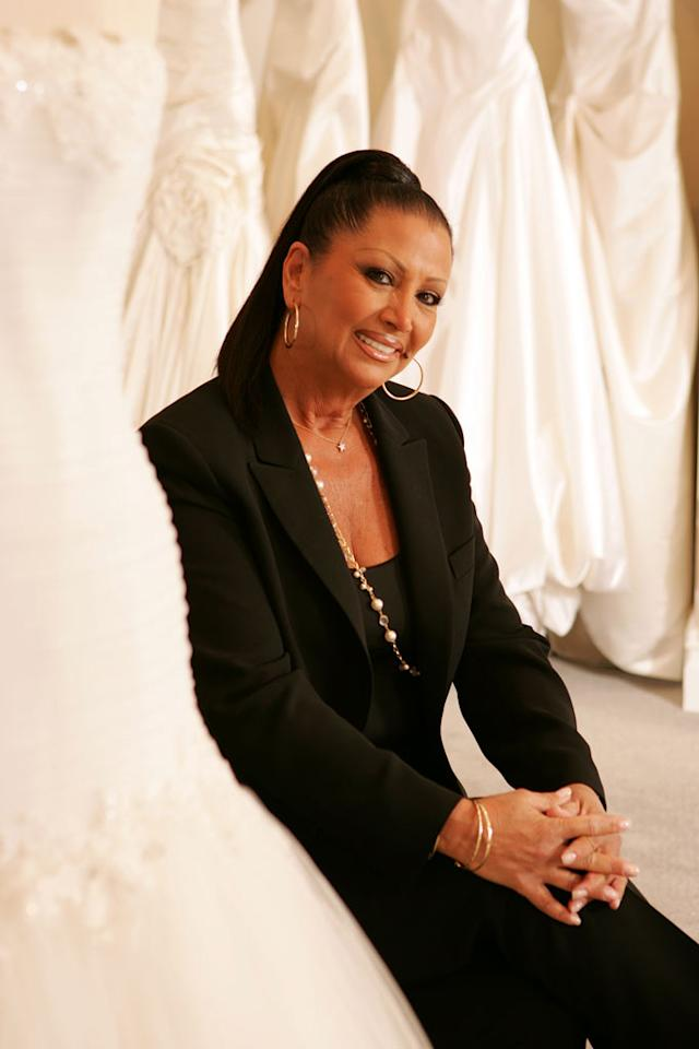 """Camille, a bridal consultant at Kleinfeld Bridal, on """"Say Yes to the Dress."""""""