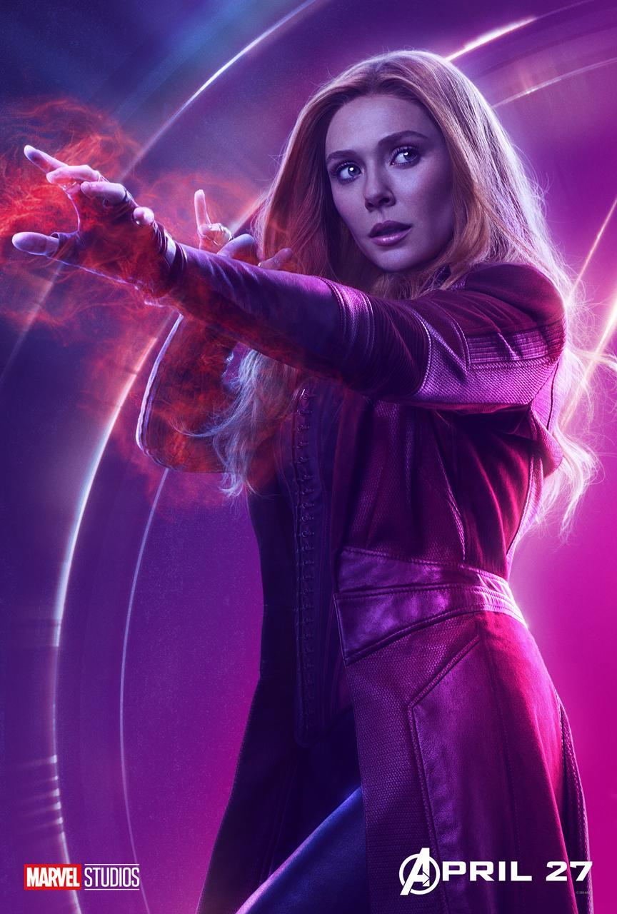 <p>Elizabeth Olsen plays the reality-bending, Vision-adoring hero, aka Wanda Maximoff. (Photo: Marvel Studios) </p>