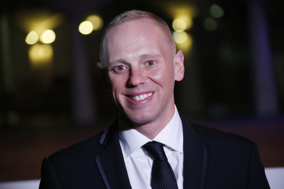Judge Rinder poses for photographers upon arrival at The Sun Military Awards 2016 in London, Wednesday, Dec. 14, 2016. (Photo by Joel Ryan/Invision/AP)