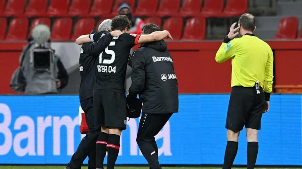 Bayer 04 Leverkusen v VfL Wolfsburg - Bundesliga | Pool/Getty Images