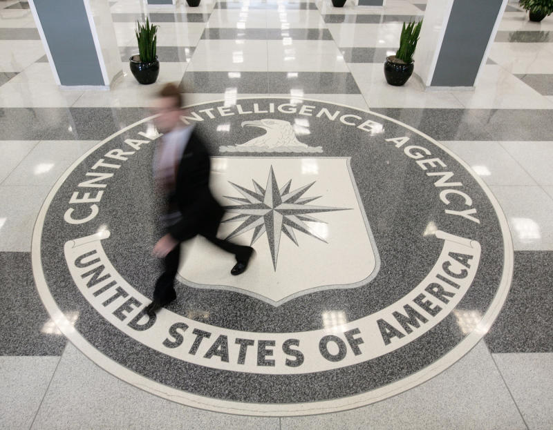 The lobby of the CIA Headquarters Building in McLean, Virginia (Larry Downing/Reuters)