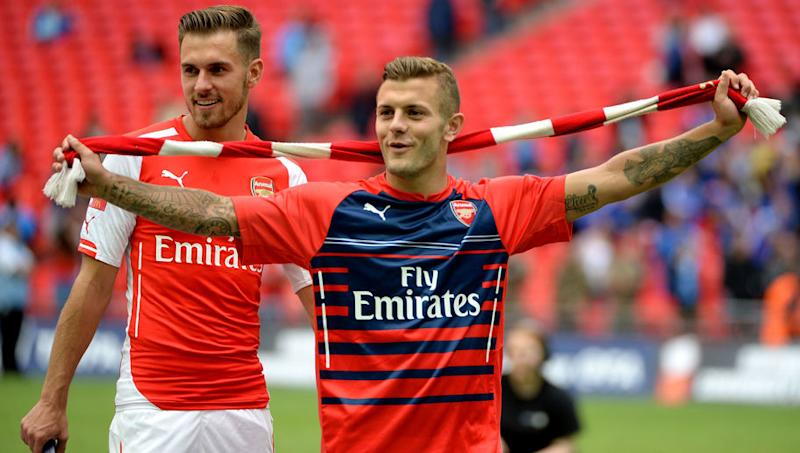 Arsenal Midfielder Aaron Ramsey Likes Instagram Comment Mocking Jack Wilshere's Fitness Record