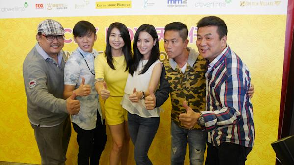 From left: Boris Boo, Wang Weiliang, Chen Xiuhuan, Venus Wong, Chew Chor Meng and Jack Neo.