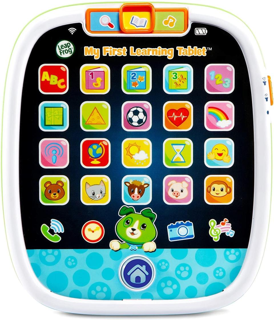 LeapFrog My First Learning Tablet, best tablets for toddlers