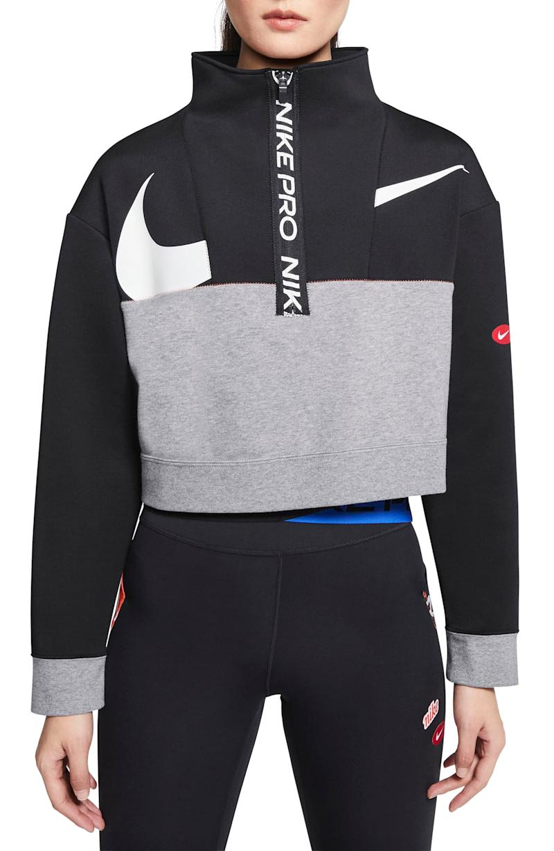 Nike Pro Dri-FIT Get Fit Crop Fleece