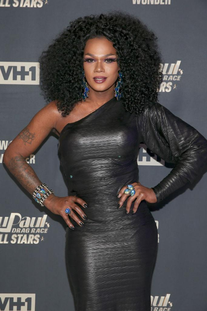"Chi Chi DeVayne starred on ""RuPaul's Drag Race All Stars"" in 2018. (Photo: Bennett Raglin/Getty Images)"