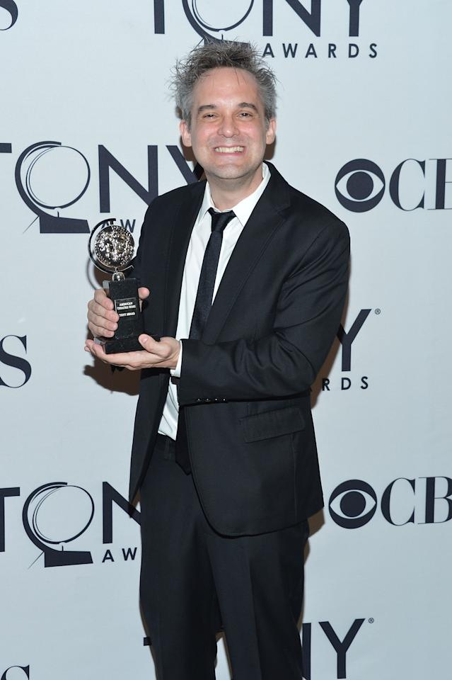 NEW YORK, NY - JUNE 10:  Martin Lowe poses in the press room at the 66th Annual Tony Awards at The Beacon Theatre on June 10, 2012 in New York City.  (Photo by Mike Coppola/Getty Images)