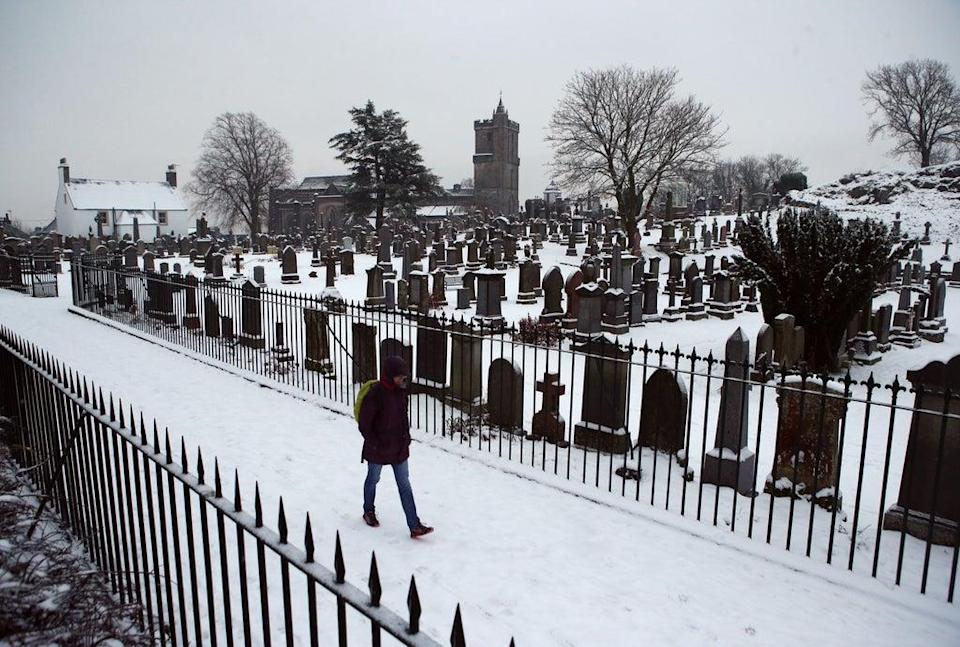 Funeral restrictions were in place for several months during the Covid-19 pandemic (Andrew Milligan/PA) (PA Archive)