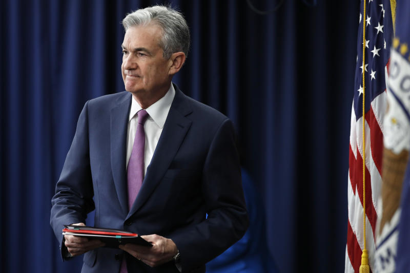 Fed Chair Powell says economy in 'good place' at moment
