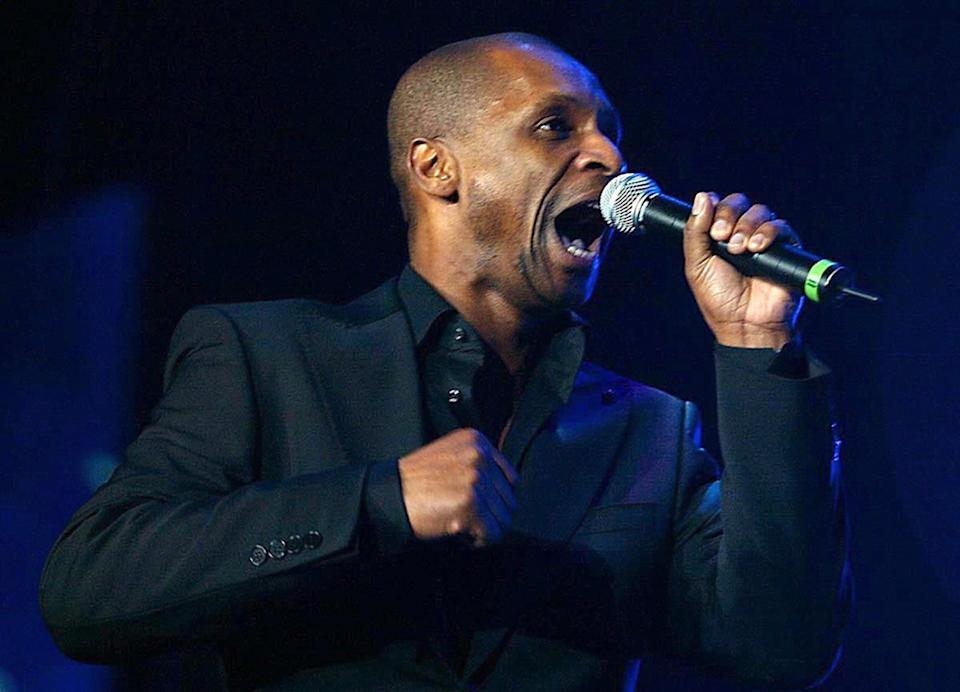 Andy Abraham performs on stage during X Factor 2 Live, at the MEN Arena, Manchester, Saturday 25 February 2006. (Photo by Dave Kendall - PA Images/PA Images via Getty Images)